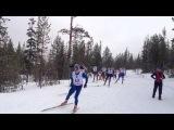 Чемпионат России по лыжным гонкам 70км Мончегорск 14.04.2013