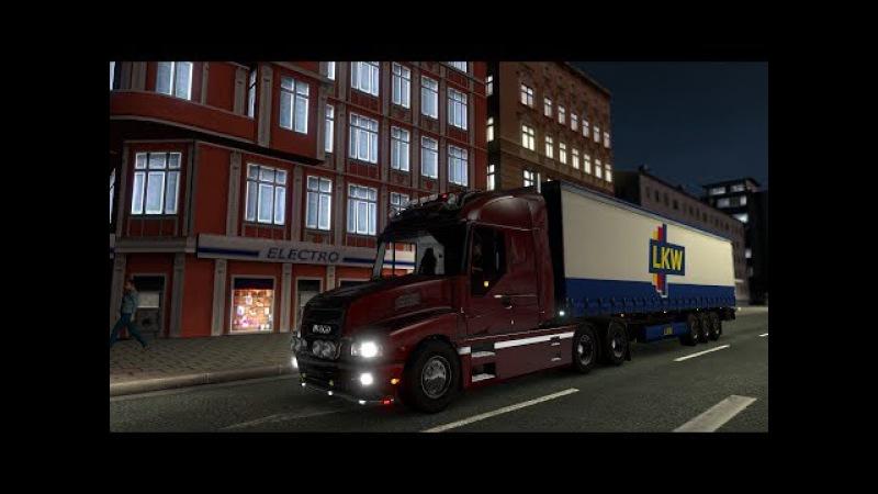 Капотный IVECO Strator для Euro Truck Simulator 2