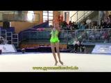 Grand-Prix Holon 2013 - PreJunior - 01 - Karina Kuznetsova - Clubs