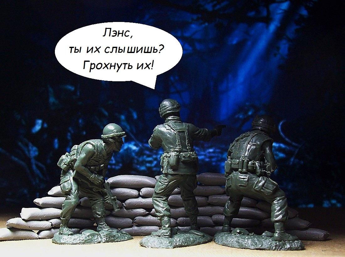 Видео - зарисовки с солдатиками 32 масштаба! BbACS1lywws