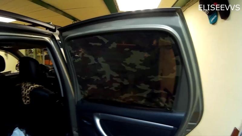 москитные сетки шторки на окна рено дастер