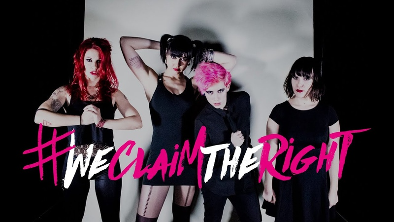 ANARCHICKS - We Claim the Right (Official video)