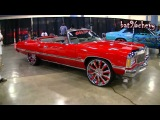 1974 Chevy Caprice Donk Vert on 26 Forgiatos @ Forgiato Fest 2013 - 1080p HD