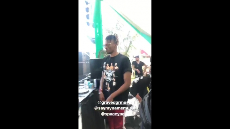 SAYMYNAME and friends on EDC LV 2018