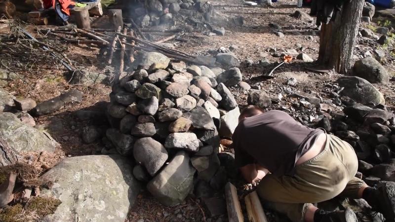 Ладога каменщики, дровосеки и кочегар