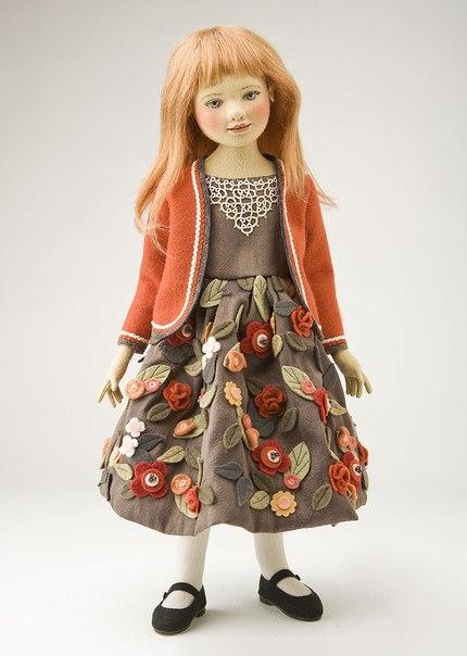 Куклы из фетра и войлока американской кукольницы Maggie Iacono 109WZ0WSyDY