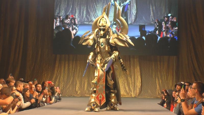 Cosplay Artanis StarCraft 2 Comic Con Saint Petersburg
