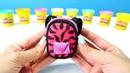 Play-Doh hamur oyunları. Sırt çantası yapıyoruz