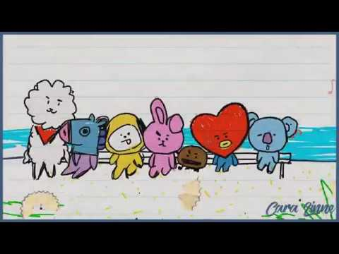 Озвучка by Cara Linne BT21 Making of BT21 EP 07