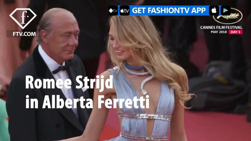 Romee Strijd at Cannes Film Festival 2018 Day 1 Everybody Knows | FashionTV | FTV