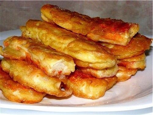 Крабовые палочки в кляре с чесноком и сыром рецепт с пошагово
