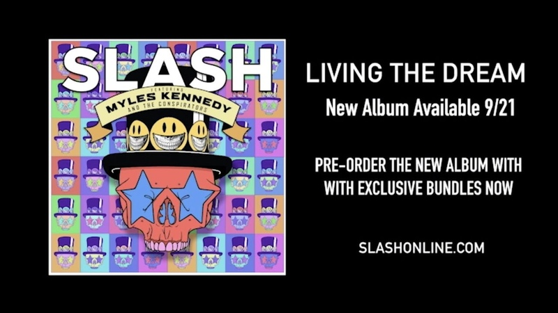 Slash ft. Myles Kennedy The Conspirators - Living The Dream Pre-order Video