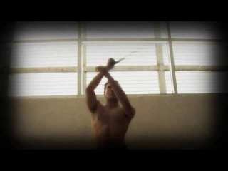 Circus - Alan Ascencio (Martial Arts demo): Capoeira, fire contact staff, voltiege, tango...