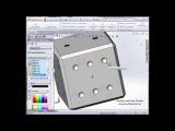 Урок по SolidWorks. Создаем кубик