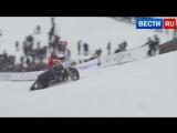 Вы такого еще не видели - на мотоциклах по снегу!