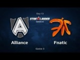 The Alliance vs Fnatic [Game 1] Bo3 Semi Final Starladder 8 Season Dota 2 RU SLTV