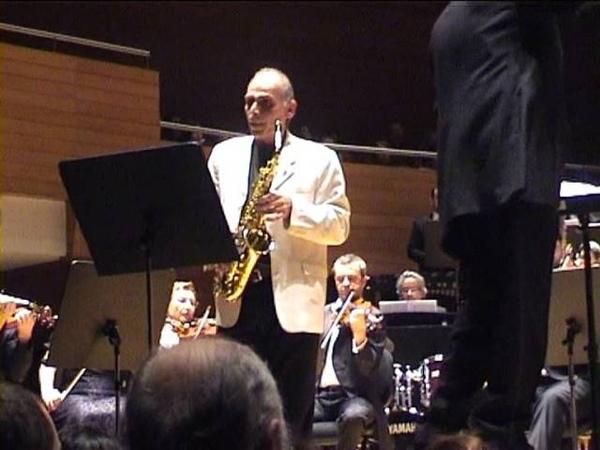 Fethi Günçer Richard Payne Saxophone Concerto izdso 04 01 2013