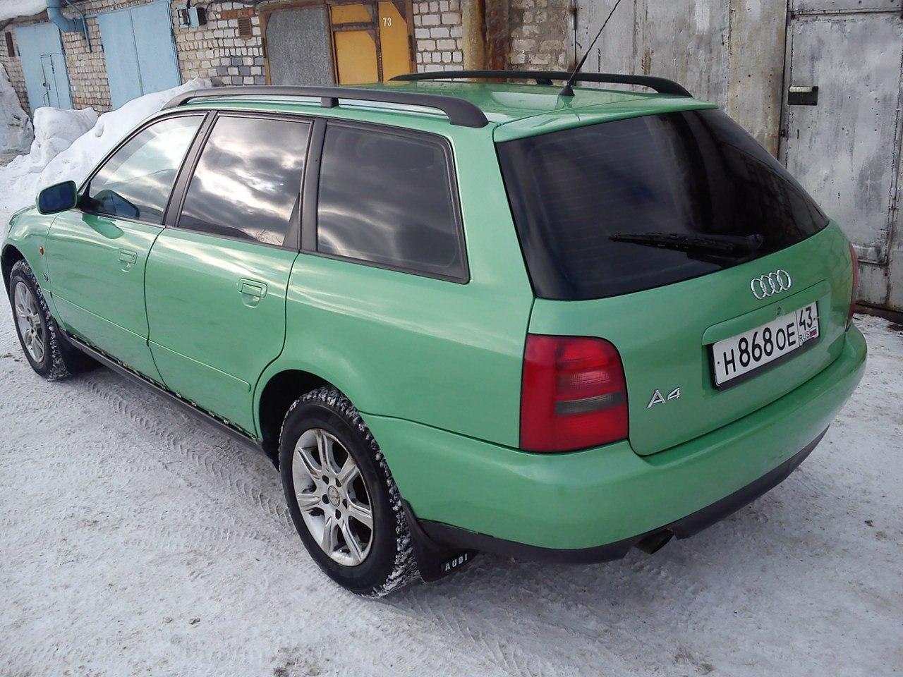 "Audi A4 Avant -""Авдотья"" AdIT63doDXk"