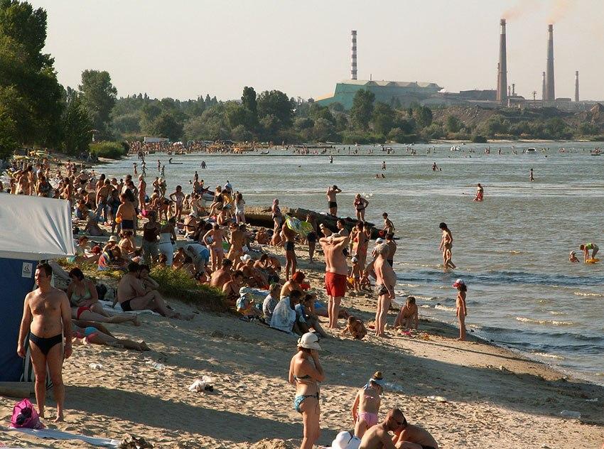 Список таганрогских и пригородных пляжев, где эпидемиологи не рекомендую купаться