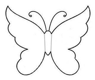 Бабочки из бумаги на стену шаблоны