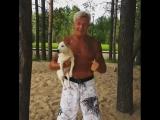 Александр Загорский на Крестовском пляже.
