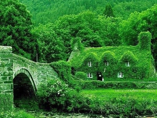 Сказочный коттедж в Англии.
