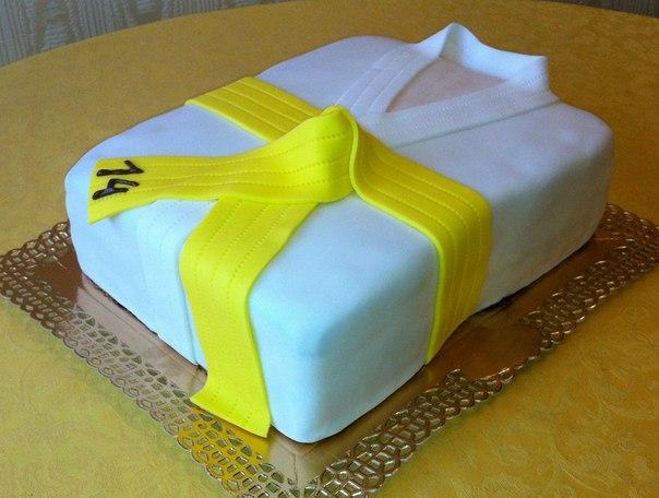Торт каратисту фото