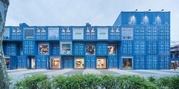 Грузовые контейнеры в архитектуре