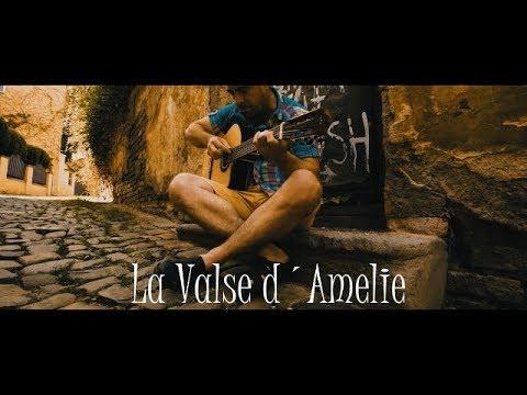 LA VALSE D´AMELIE - by Yann Tiersen - fingerstyle guitar cover by soYmartino