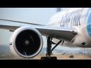 Boeing 777-300ER high power engine run