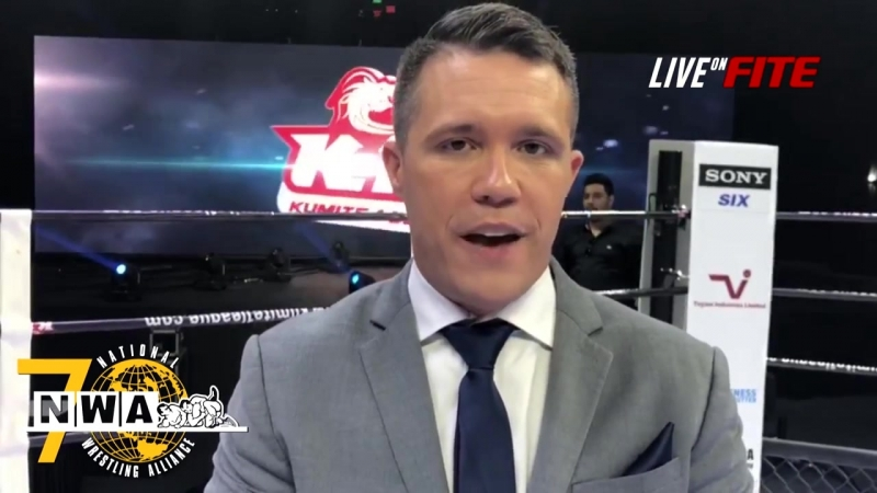 NWA 70- CYRUS FEES JOINS THE NWA BROADCAST TEAM AS THE RING ANNOUNCER