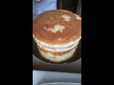 Мастер класс по декорированию торта. выравние-цветы.