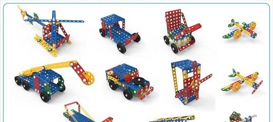 Детский металлический конструктор «набор №3» от десятое.