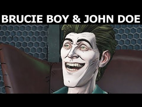 Brucie Boy John Doe As Good Friends - BATMAN Season 2 The Enemy Within Episode 3: Fractured Mask