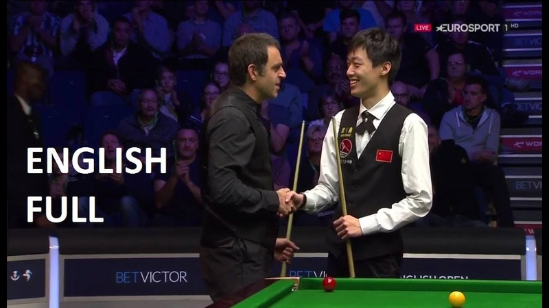 Ronnie O'Sullivan vs Luo Honghao - (full match) English Open Snooker 2018 (Q/F)