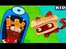 Мультик СКАЗКА игра - ПРИКЛЮЧЕНИЯ КОРОЛЯ СЛАДКОЕЖКИ АРТУРА - Tiny King | KIDMasterGames