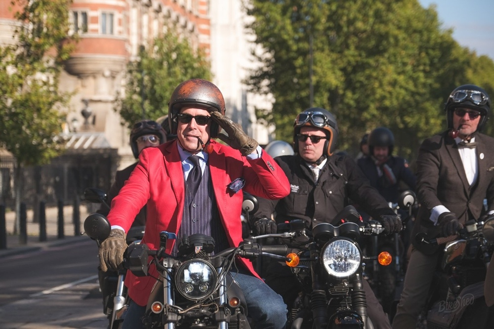 The Distinguished Gentleman's Ride 2018 в Лондоне (фото)