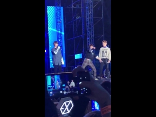 181006 EXO-CBX @ 2018 Gangnam Festival 'Yeongdong-daero K-POP Concert'