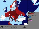 Вторая мировая война в Европе: изменение карты по дням