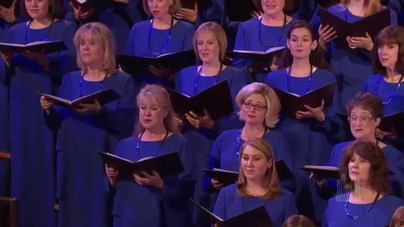 His Yoke Is Easy, and His Burthen Is Light - Mormon Tabernacle Choir