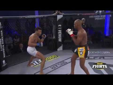Kailan Hill wins by spinning-backfist knockout in just 11 seconds