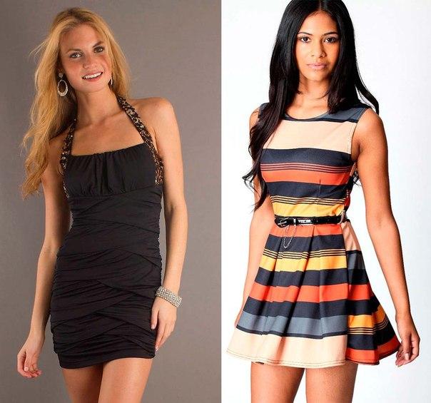 платье для полных девушек с животом фото