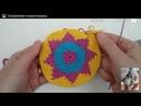 Сумка торба жаккардовый узор летняя сумка крючком колумбийская сумка мочила Mochila Часть 1