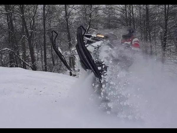 Катаемся на снегоходах! Yamaha Nytro, Venture, LYNX BoonDocker, Lynx Adventure, Tundra, Viper