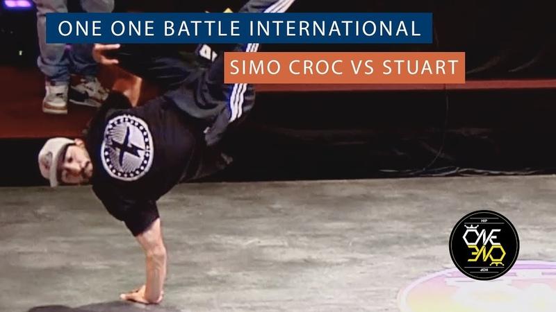 Simo Croc vs Stuart Eight Finals ONE ONE BATTLE INTERNATIONAL 2019