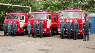 Нижнекамские пожарные своими руками создали мемориальный комплекс