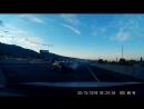 Автомобиль врезается в грузовик во время преследования копами(fixter)