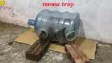 Mouse RejectWater Bottle Mouse TrapHow to make a mouse trap homemadeAnimal Trap