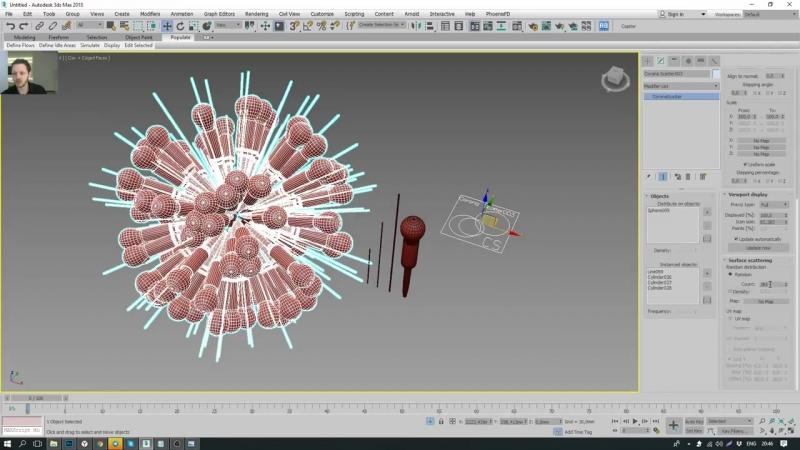 3Ds MAX. Эффектный моделинг стильных светильников. (Артем Куприяненко - CG Incubator Academy)