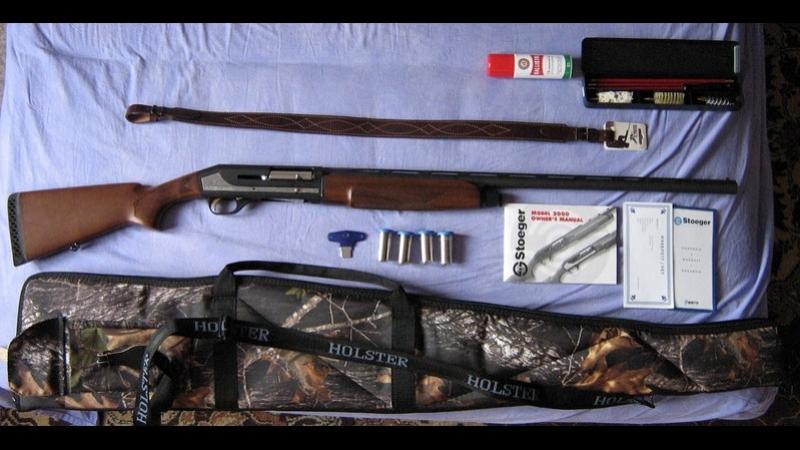 Комплексная чистка и смазка ружья. Полная разборка STOEGER-2000_